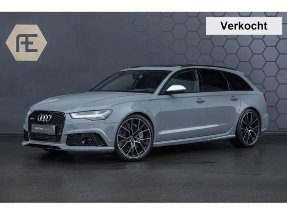 Audi RS6 Performance Avant 4.0 TFSI Quattro Pro Line Plus + BTW + KERAMISCHE REMMEN + MILLTEK + Garantie t/m 08-2022