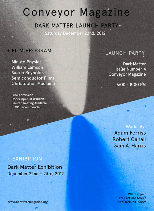 Reserve Your Seat the Dark Matter Film Screening, It's Free! Limited Seats Available. RSVP HERE