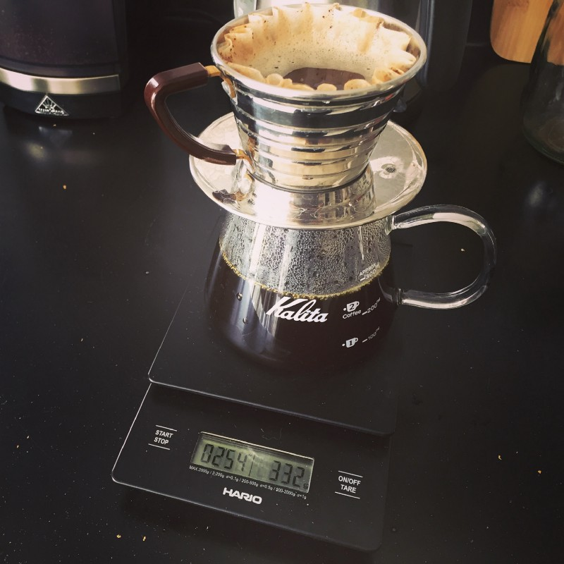 My current favourite: Kalita Wave 155