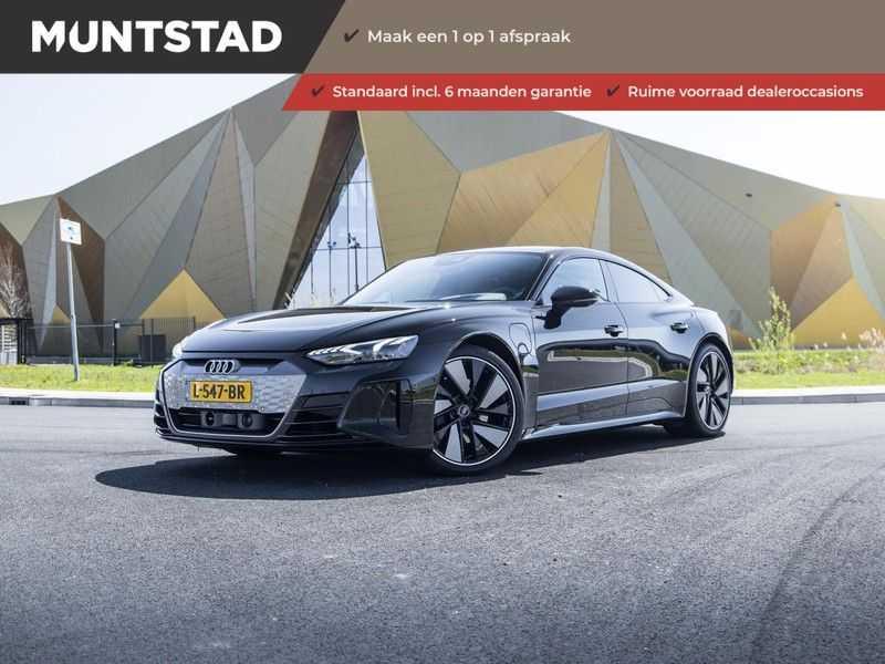 "Audi e-tron GT edition ZERO | Head-Up | B&O Sound | Carbon | S-Sportstoelen | Pano.Dak | Matrix LED | 21"" LM-velgen | afbeelding 1"
