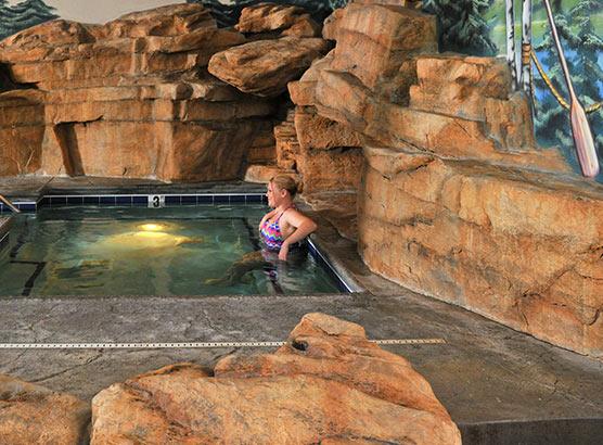 Public Whirlpool Spa
