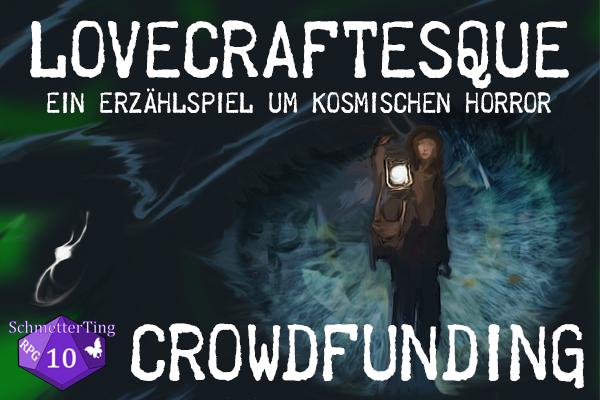 Cover zum Lovecraftesque-Crowdfunding