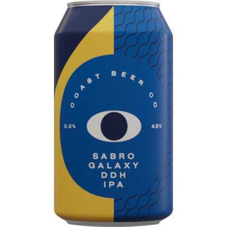 Sabro Galaxy DDH IPA by Coast Beer Co