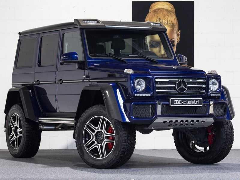 Mercedes-Benz G-Klasse 500 4x4² Designo, Carbon The Beast! afbeelding 1