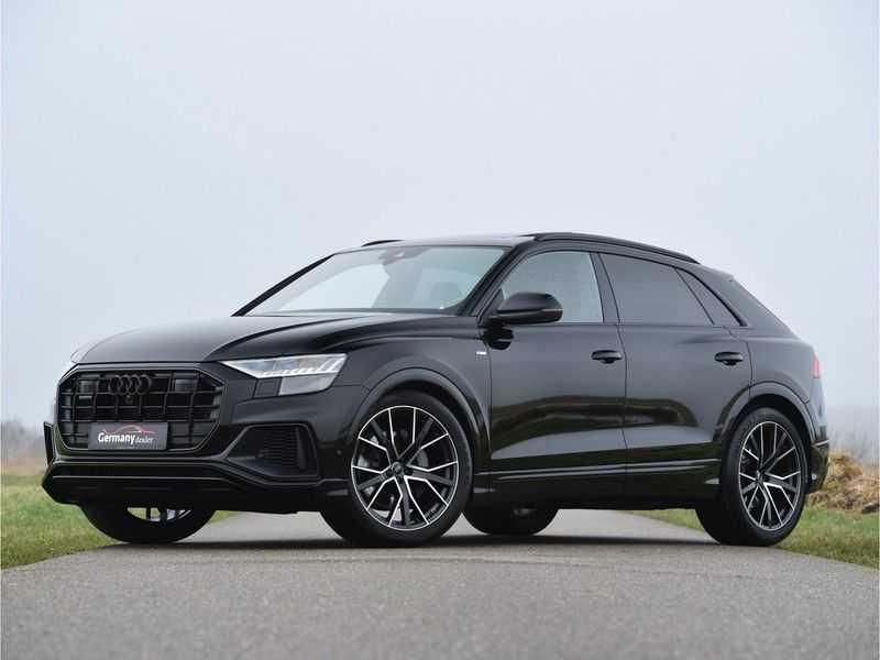 Audi Q8 50TDI 286pk Quattro S-Line Black Optic Lucht RS-zetels B&O High-end Alcant.Hemel TV Head-Up Standk ALLE OPTIES! afbeelding 5