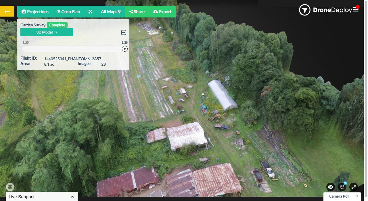 DroneDeploy 3D