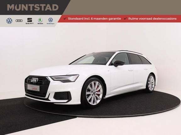 Audi A6 Avant 55 TFSI e 367 pk quattro Competition | Panoramadak | Assistentiepakket Tour/City | B&O | Comfortstoelen met massage/ventilatie | Keyless Entry | Verlengde fabrieksgarantie |