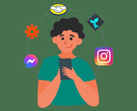 Conecte o Instagram com as ferramentas mais populares do mercado