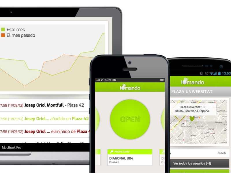 iomando app 2.0 —multiplatform