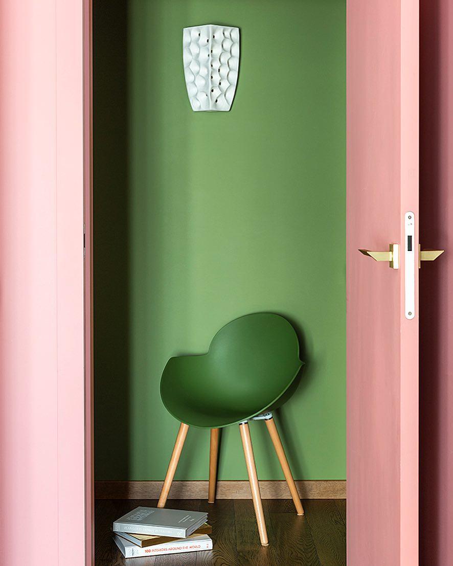 Make Interiors | Как же прекрасен зеленый цвет в интерьере!! Он так заряжает своей энергией💚