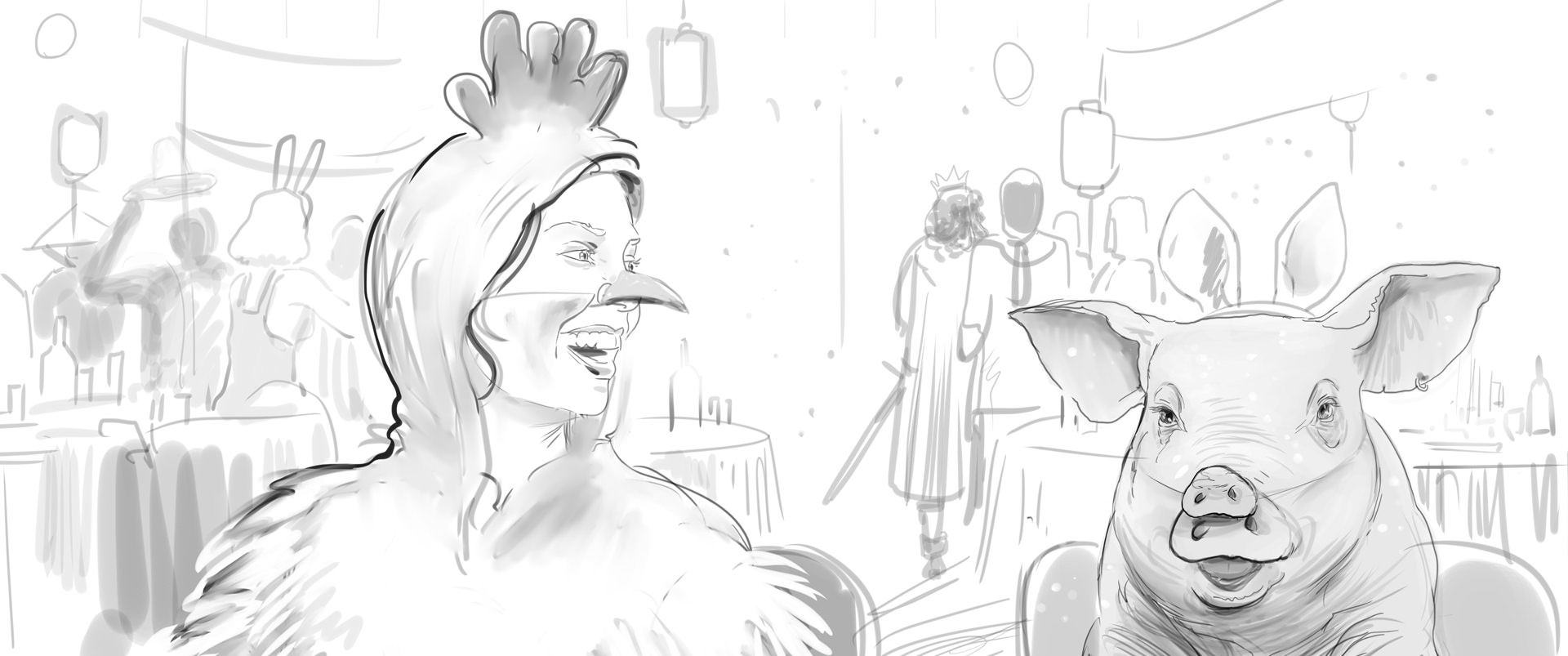 Lidl Vis TV Commercial storyboard 09