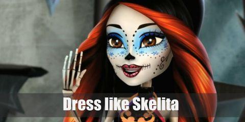 Dress Like Skelita (Monster High) Costume