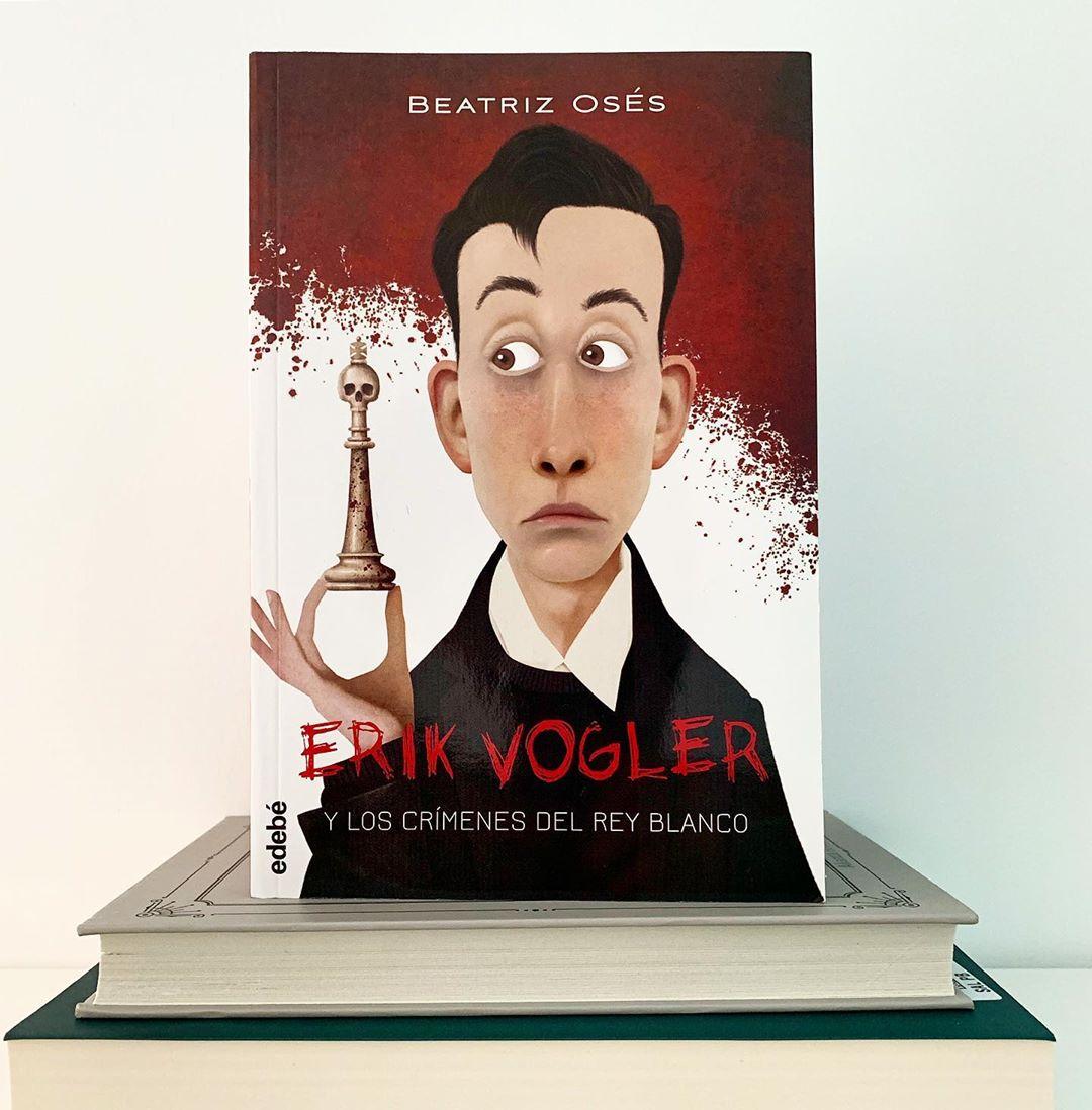 """Imagen de Reseña de """"Erik Vogler y los crímenes del Rey Blanco"""", de Beatriz Osés"""