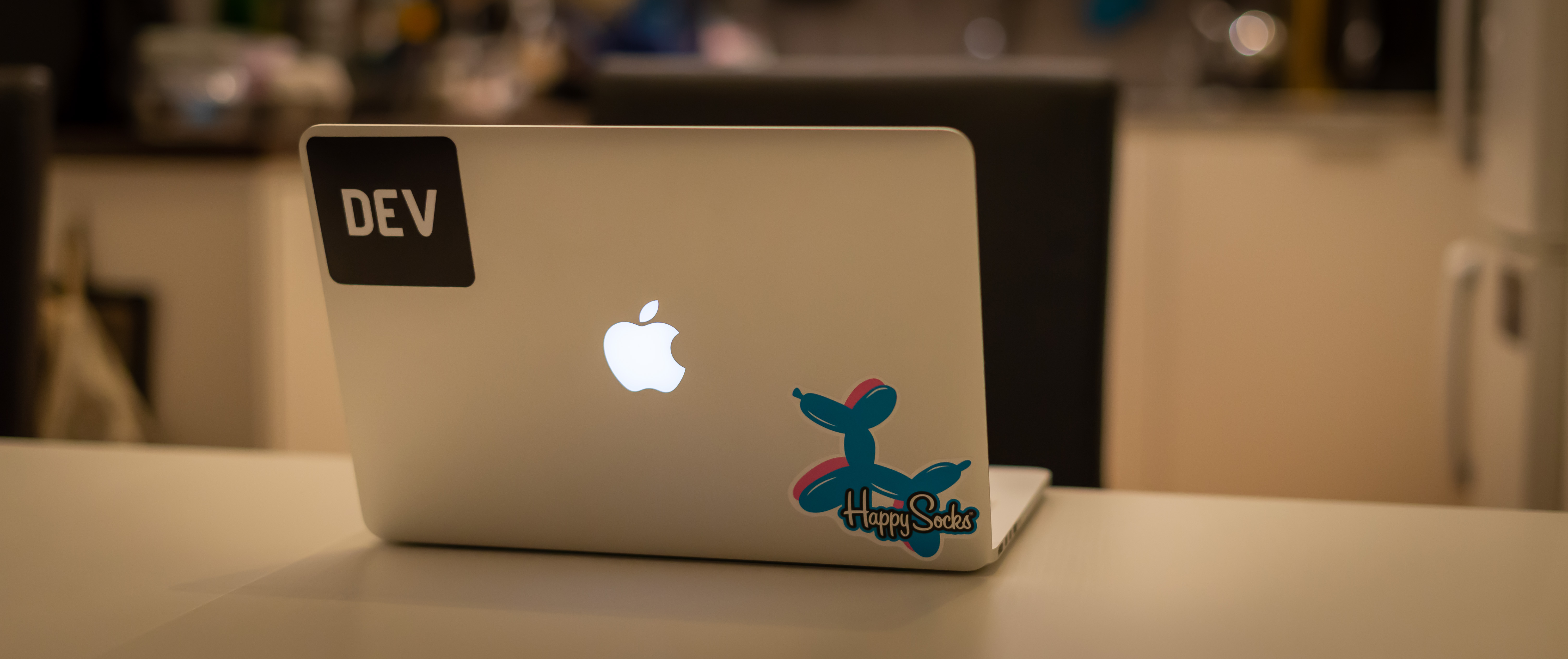 Photo of the laptop I'm writing about in this post