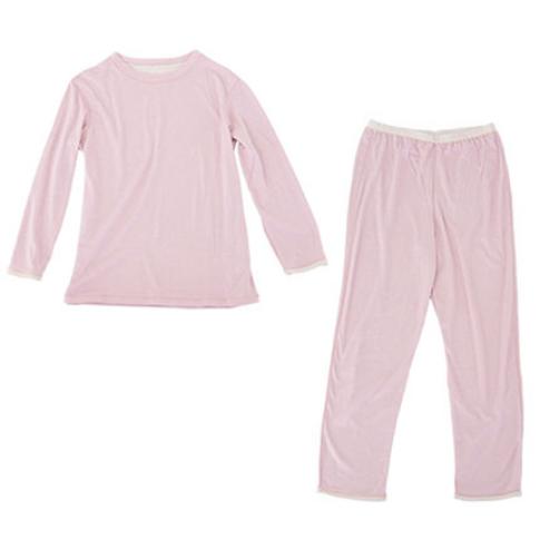 肌側シルクのパジャマ2