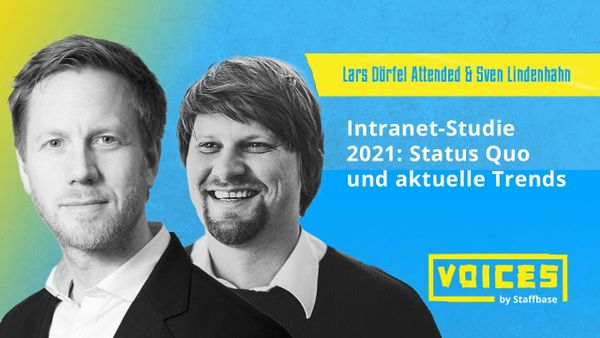 Sven Lindenhahn & Lars D. Attended: Intranet-Studie 2021 – Status Quo und aktuellen Trends