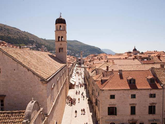 Taking in Dubrovnik on a Croatia Sailing Holiday