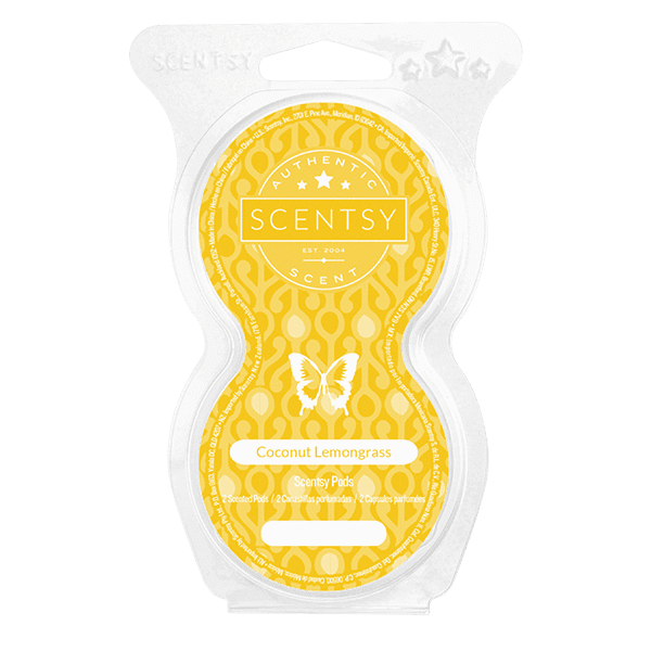 Coconut Lemongrass Scentsy Pod Twin Pack