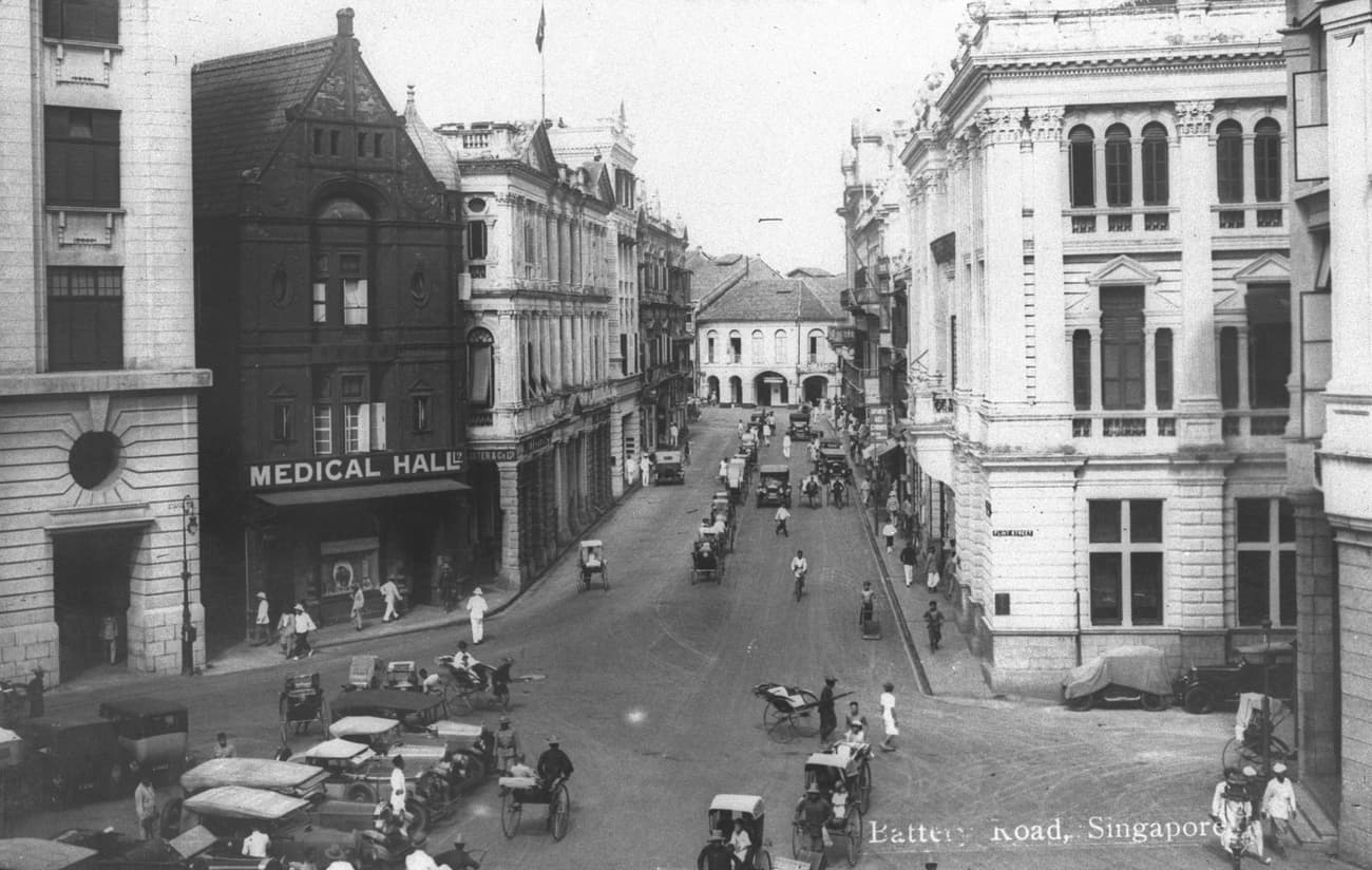 Battery Road, 1920s