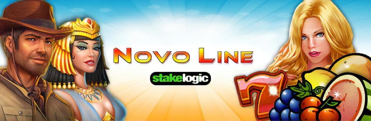 novoline stakelogic slot banner mit encharmed, cinderella, book of adventure