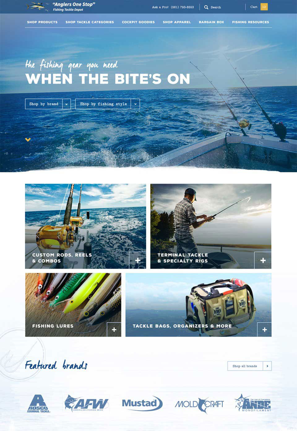 Anglers One Stop Fishing Tackle Depot