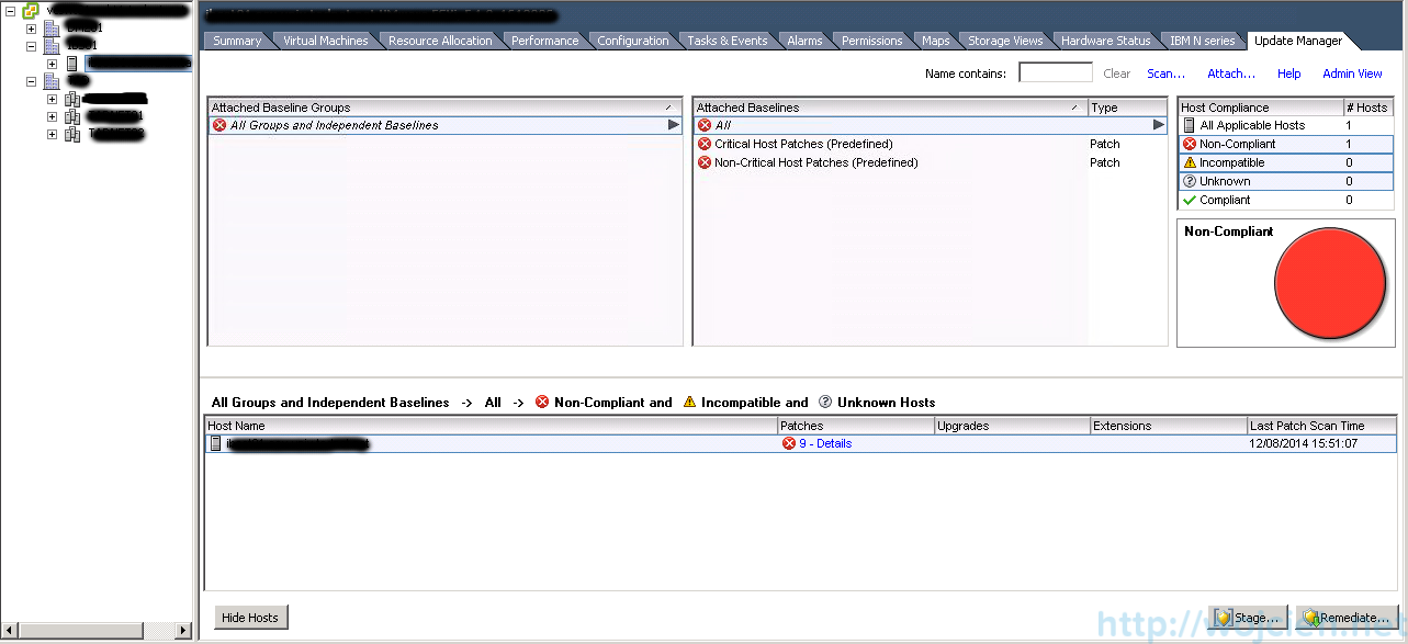 ESXi patching using VMware Update Manager 1