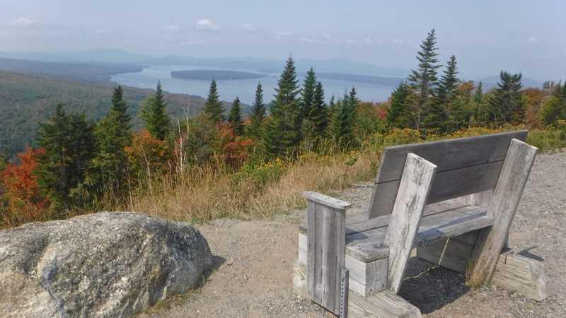 View of Mooselookmeguntic Lake
