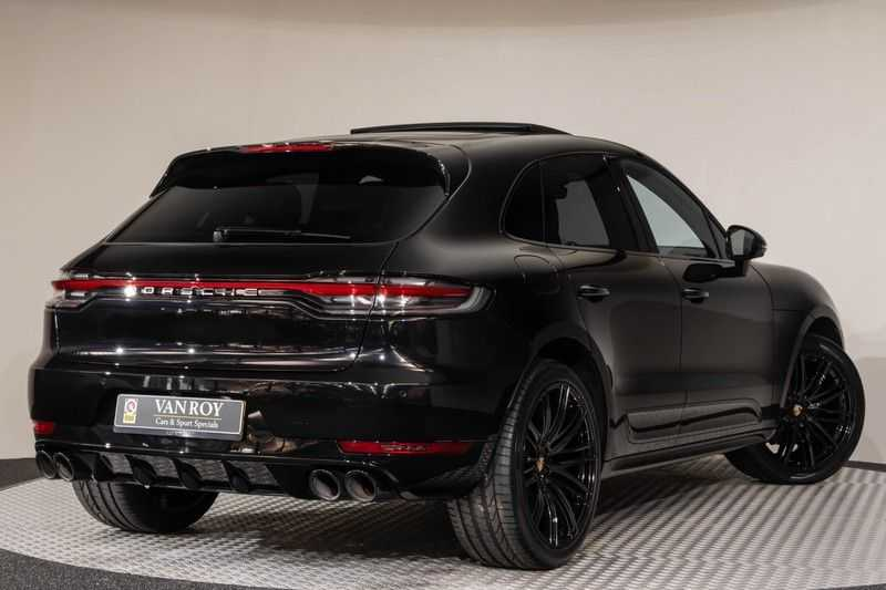 "Porsche Macan 3.0 S 354pk PDK Black Design Nieuw Model Luchtvering Panoramadak SportChrono ACC Sportleder+Memory Keyless Full-Led Navi/High Privatglass AppleCarplay 21""Turbo Pdc afbeelding 22"