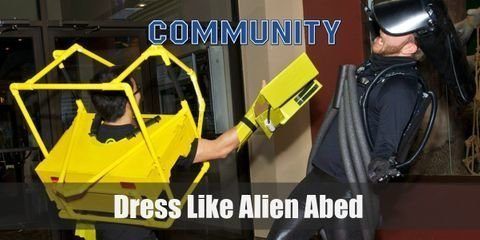Abed's Alien costume was something to talk about because it looked creative and a lot of fun, yet it was confusing for some fans wouldn't know it was an Alien costume if Troy didn't show up in the Exo-suit.