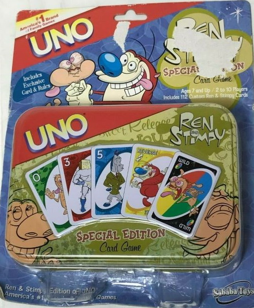 Ren and Stimpy Uno