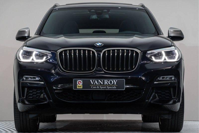 "BMW X3 M40i xDrive 340pk Panoramadak VirtualCockpit ShadowLine Sportleder+Memory Head-Up ACC Harman/Kardon AmbientLight Keyless 20"" 360Camera ParkAssist Pdc afbeelding 11"