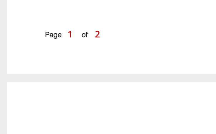 pdf page numbers
