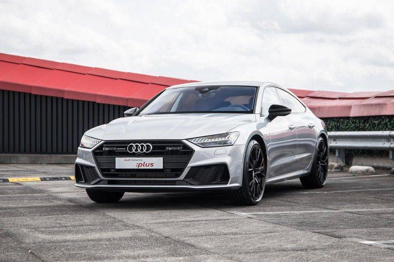 Audi A7 Sportback 55 TFSI e quattro Competition 376 PK   21'' velgen zwart   Assistentiepakket Tour & City   360* Camera   Head-Up   Matrix LED   Adapt. Demping   Comfortstoelen   Leder afbeelding 9