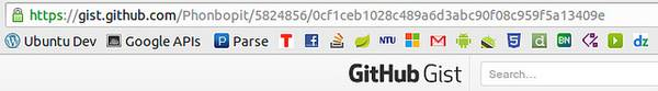 How to embedded gist on website
