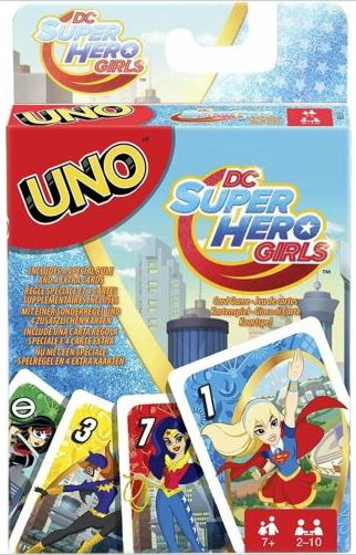 DC Super Hero Girls Uno