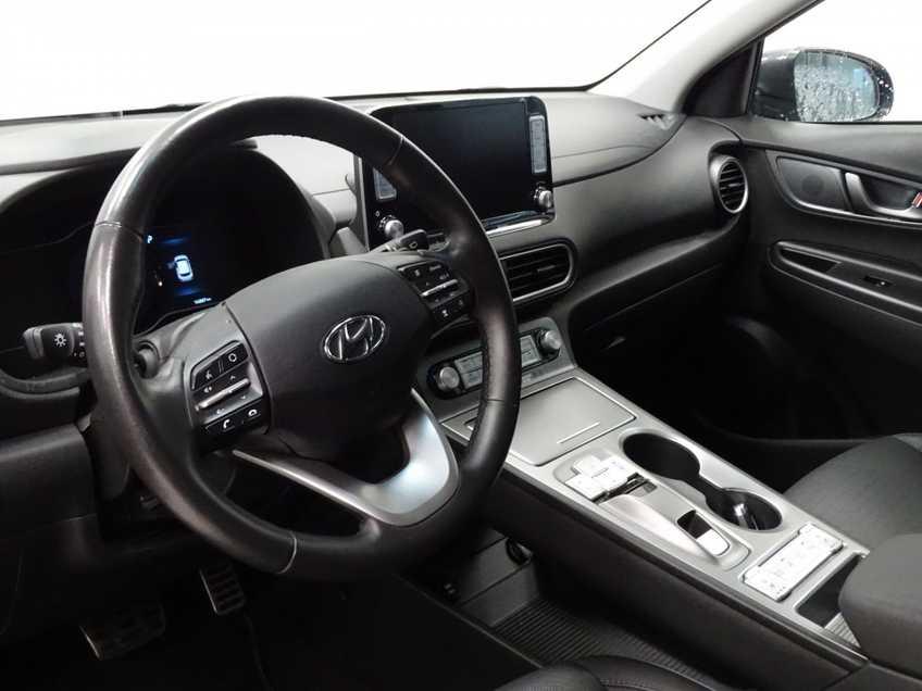 Hyundai Kona EV Premium 64 kWh EX BTW 4% Leder Navigatie Clima Cruise Camera HUD  460 KM op 1 Lading! afbeelding 6