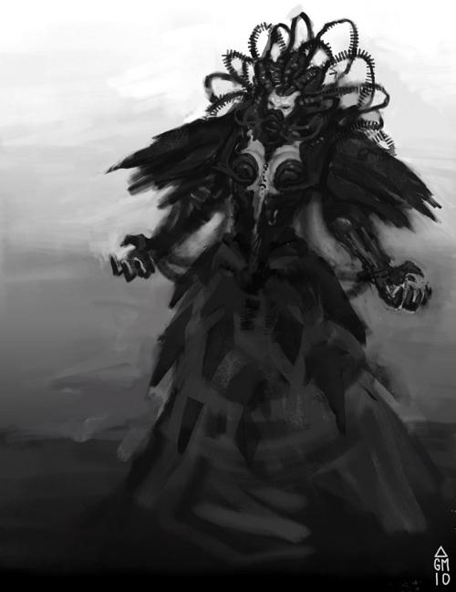 Dark Mage Sketch