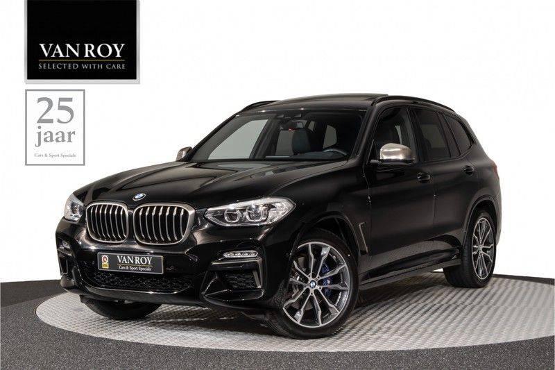 "BMW X3 M40i xDrive 360pk Panoramadak VirtualCockpit ShadowLine Sportleder Hifi AmbientLight 20"" Camera ParkAssist Pdc afbeelding 1"