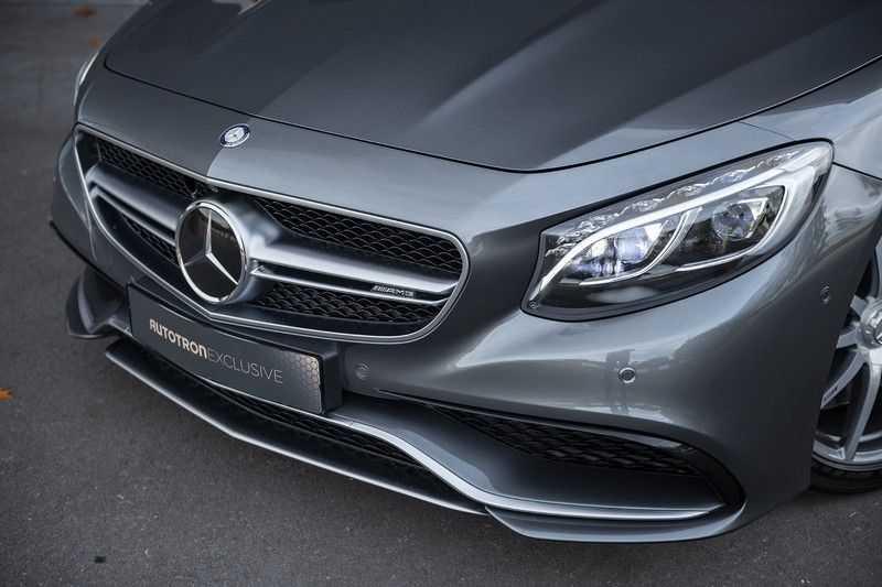 Mercedes-Benz S63 Cabrio 63 AMG 4Matic DISTRONIC + BTW + BURMESTER afbeelding 9