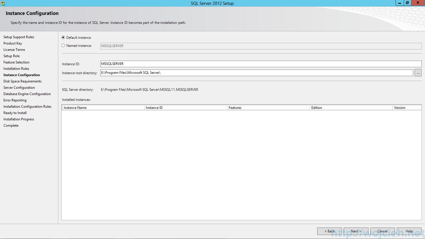 SQL Server 2012 SP1 - Instance Configuration