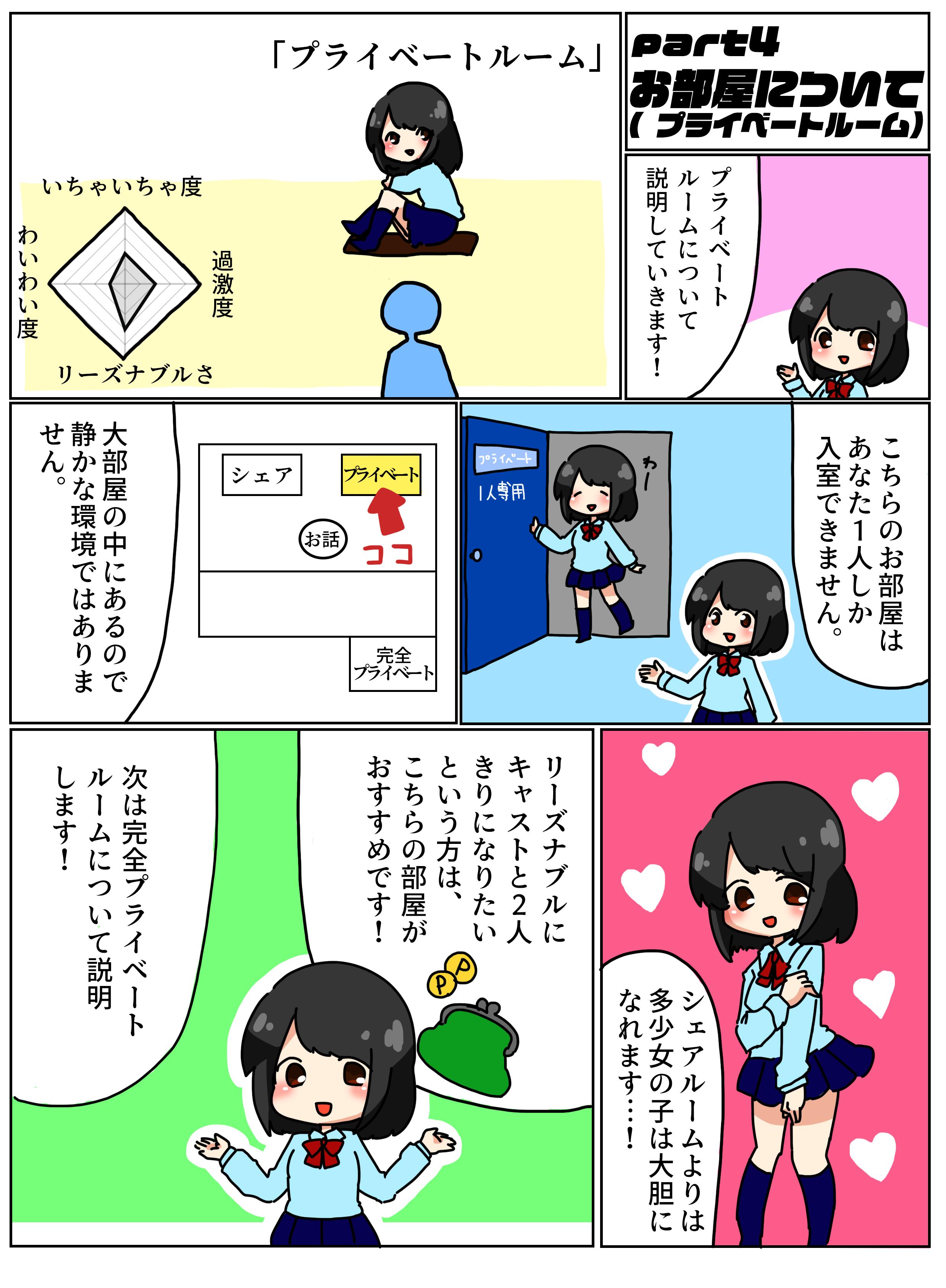 バーチャル見学店ぶいけん_漫画