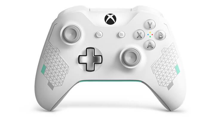 Xbox One Kablosuz Kumanda Sport White Special Edition