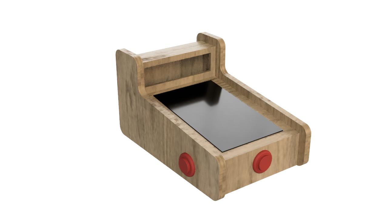 Mini Pinball Machine - Render 1