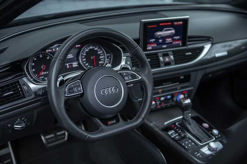 Audi RS6 Performance Pro Line Plus 4.0 TFSI quattro 605PK BTW + Keramisch + Carbon + Nardo Grey + Panoramadak + 4 nieuwe banden afbeelding 3