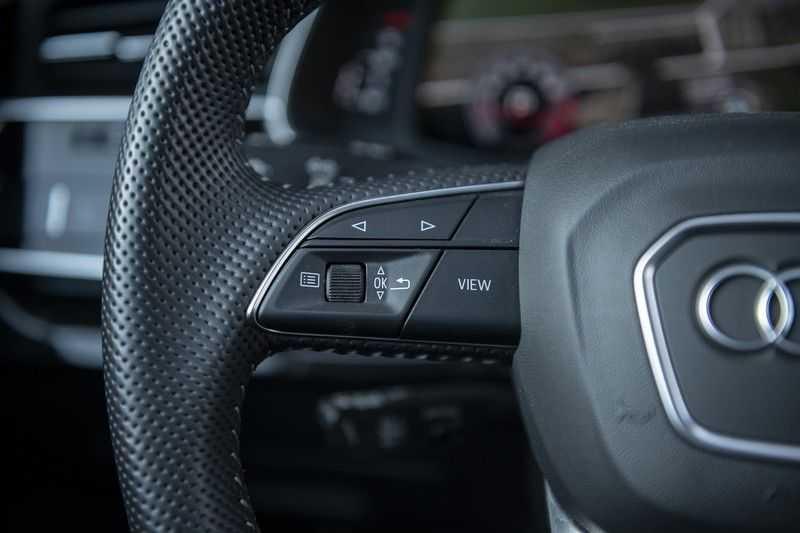 Audi Q8 55 TFSI quattro Pro Line S 3x S-Line! Black pack, 4-wiel-best. / Massage, Verw. & Koelb. stoelen, Bang & Olufsen 3D + Elek.Haak + Ambiente verlichting afbeelding 23