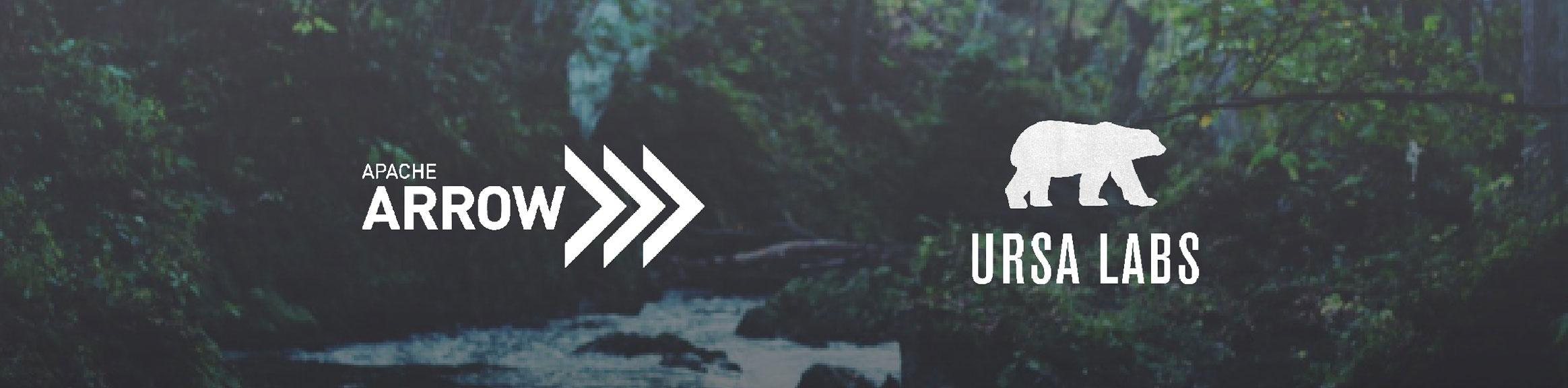 Apache Arrow and Ursa Labs Logos
