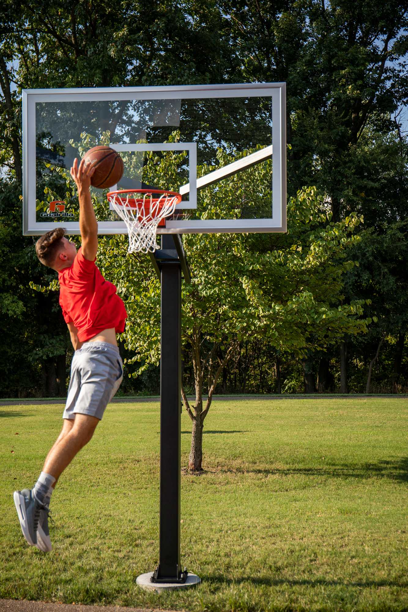 Moving Your Basketball Hoop