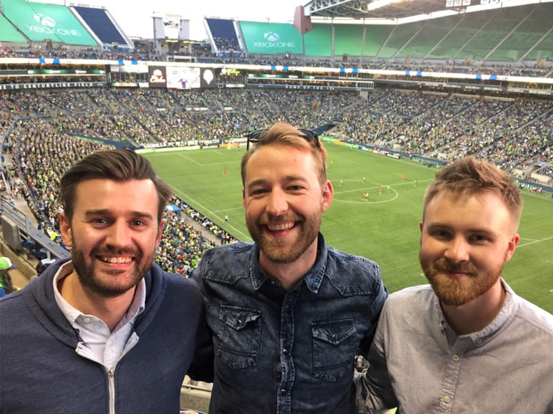 Supporting the Sounders