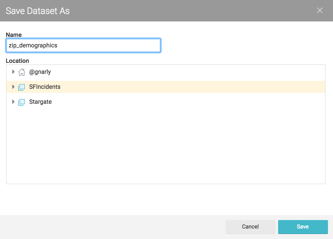 Join Multiple Datasets with Dremio
