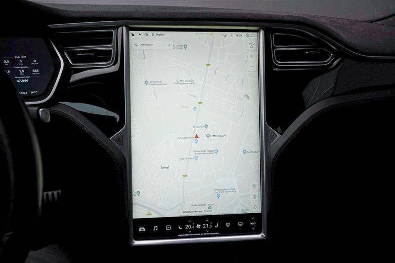 Tesla Model S 85D Performance 700pk Free Charging Pano Leer afbeelding 23